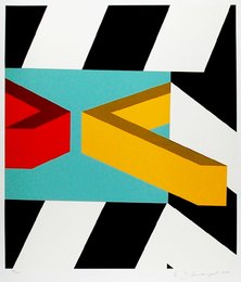 Allan D'Arcangelo, 'Caves,' 1979, Heritage Auctions: Holiday Prints & Multiples Sale
