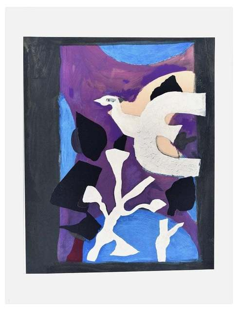 Georges Braque, 'Oiseau et Lotus', 1963, Wallector
