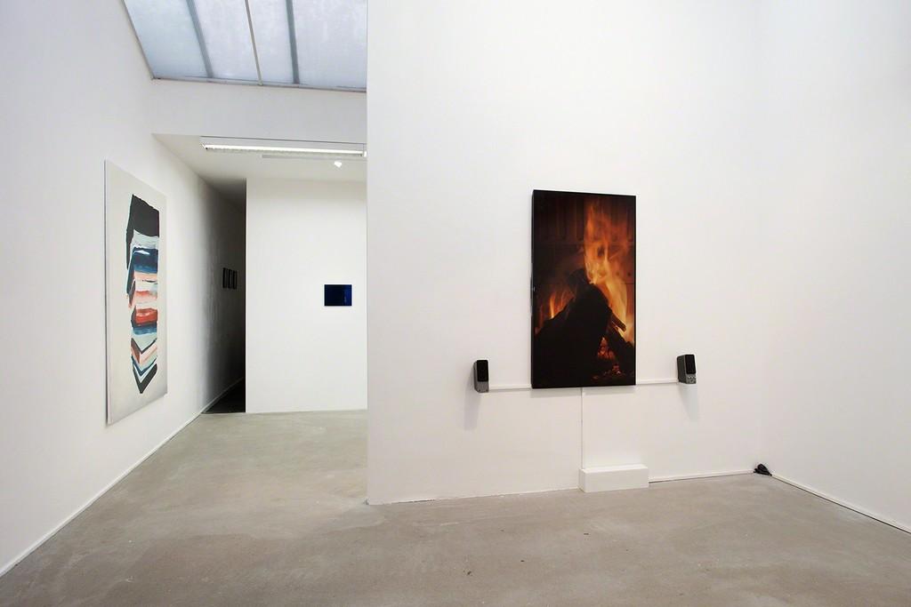 Overview Cevdet Erek, 'Fireplace with Beat', 2016, photo Wytske van Keulen