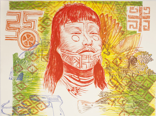 , '10,000 cuzeiros,' 2012, Tamarind Institute