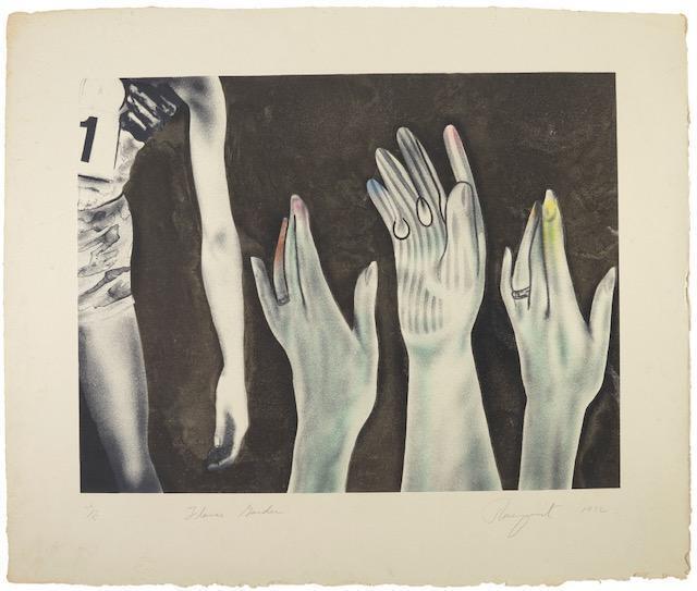 James Rosenquist, 'Flower Garden', 1972, Print, Color lithograph, Adam Baumgold Gallery