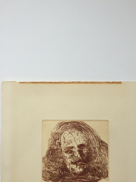 Salvador Dalí, 'Velazquez, from Five Spanish Immortals', 1965, Print, Etching, Gregg Shienbaum Fine Art