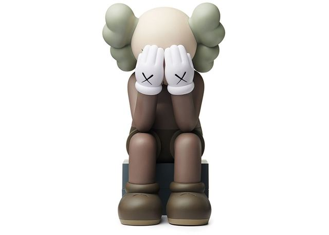 KAWS, 'PASSING THROUGH (OPEN EDITION) BROWN', 2018, Dope! Gallery