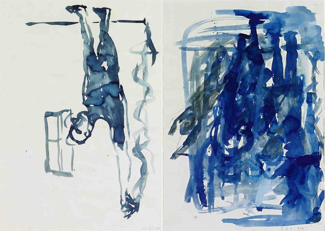 , 'Mann mit gestrecktem Arm,' 1980, KM Fine Arts