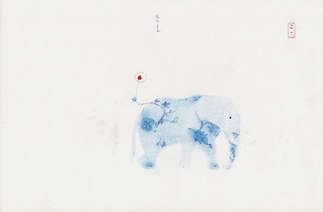 , 'Une bleue histoire-1,' 2012, Galerie Liusa Wang