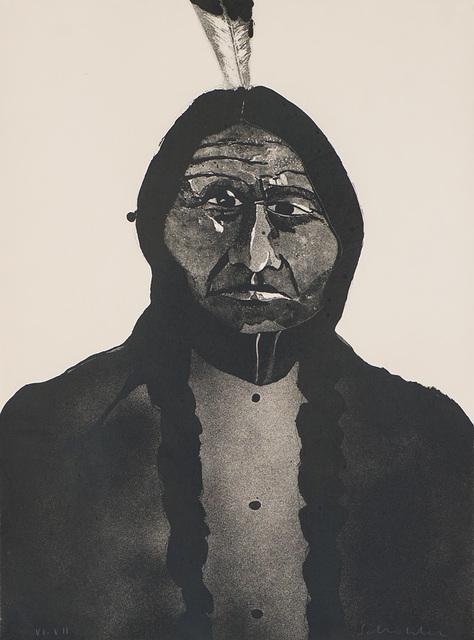 Fritz Scholder, 'Portrait of an American #2', 1973, Larsen Gallery