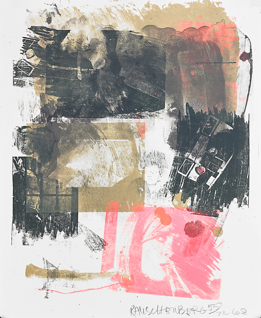 Robert Rauschenberg, 'Storyline III', 1968, Print, Lithograph in colors on Rives paper, Rago/Wright