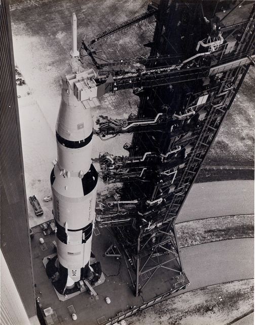 , 'Apollo 6 transported to the launch pad,' 1968, Repetto Gallery