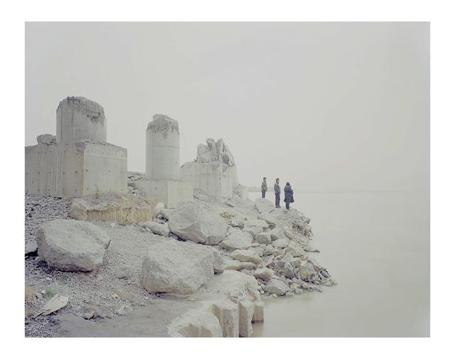Zhang Kechun, 'People Seeking Relative and Friends by Riverside 河边寻找亲者', 2015, Three Shadows +3 Gallery