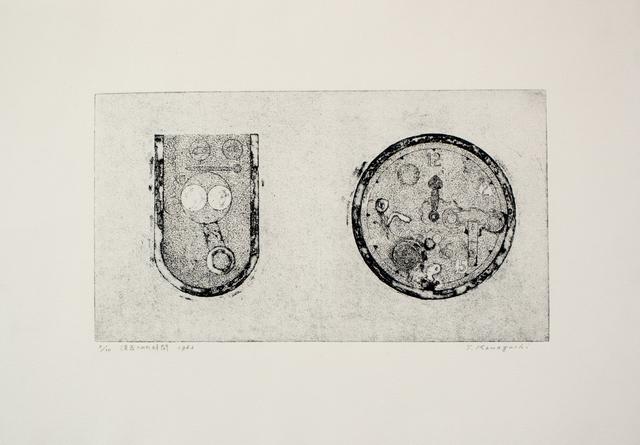 , 'Erased Time,' 1963, SNOW Contemporary