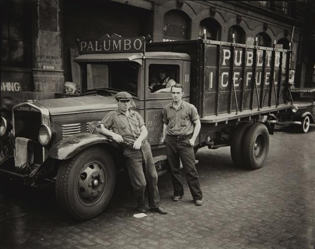 Walker Evans, 'Palumbo Public Ice-Fuel Corp. Truck, New York', Sotheby's