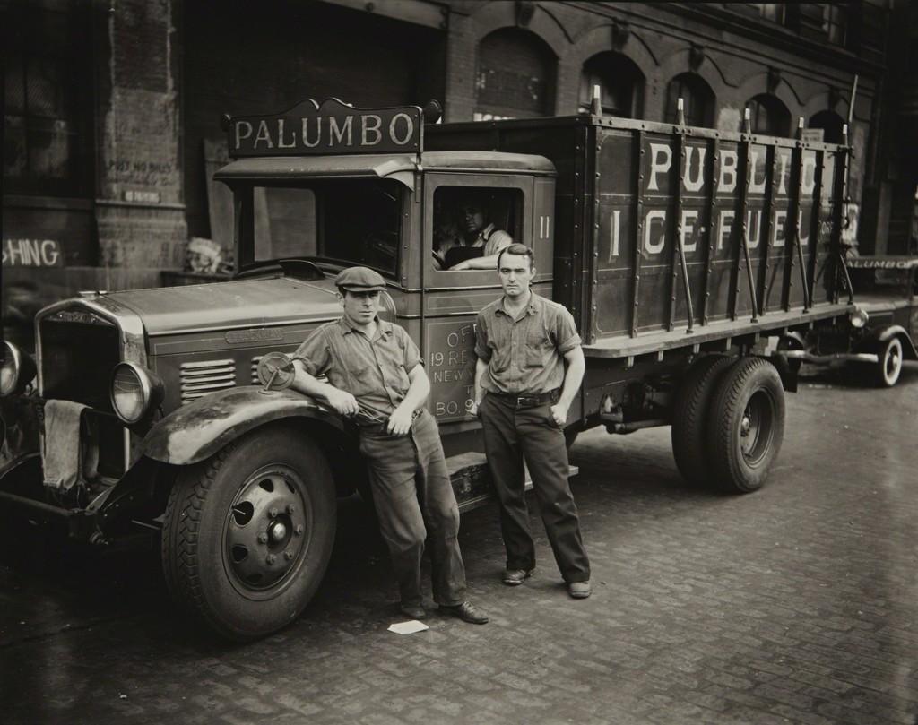 Walker evans palumbo public ice fuel corp truck new york