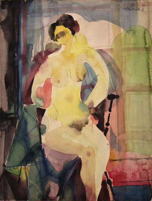 , 'Nude Sitting,' , Galería Nudo