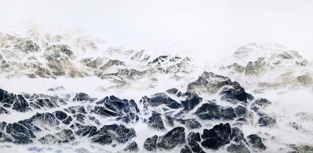 , 'Cyano-Collage 024,' 2018, Galerie du Monde