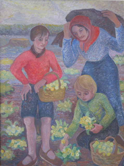 , 'Picking Flowers,' 1956, Russell Collection