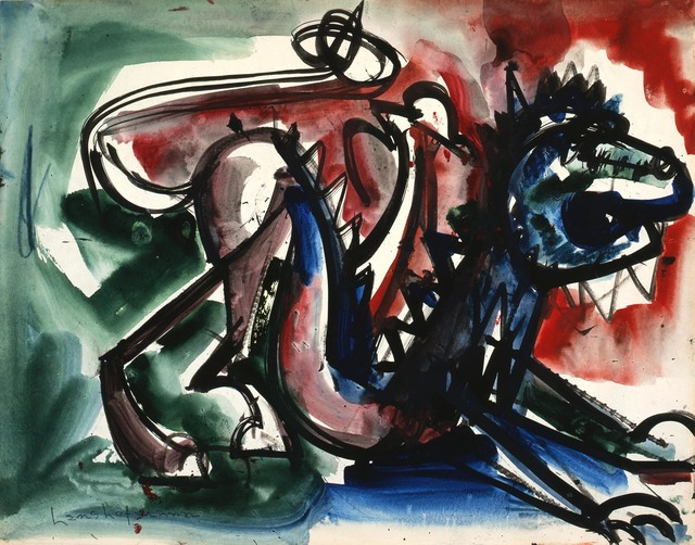 , 'Untitled (Scaredy Cat IV),' 1944, Adelson Cavalier Galleries