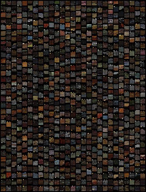 , 'Amoeba, Planches contact, 2007-09 ,' 2016, Galerie Les filles du calvaire