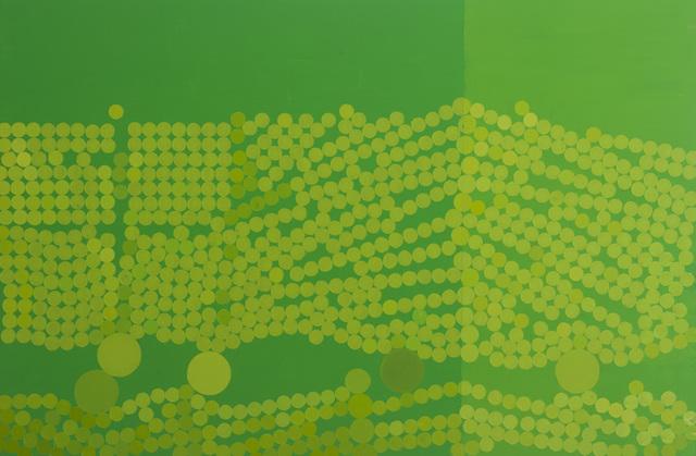 , 'Emerald and Cadmium Green,' 1971, Waterhouse & Dodd