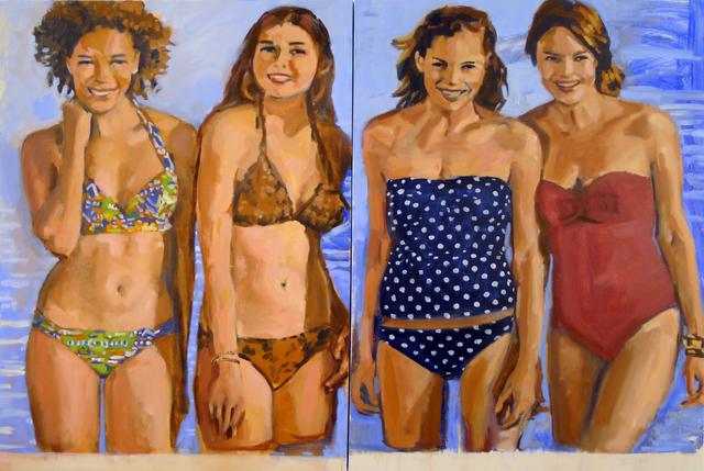 , 'Bathers,' 2015, Chris Bors