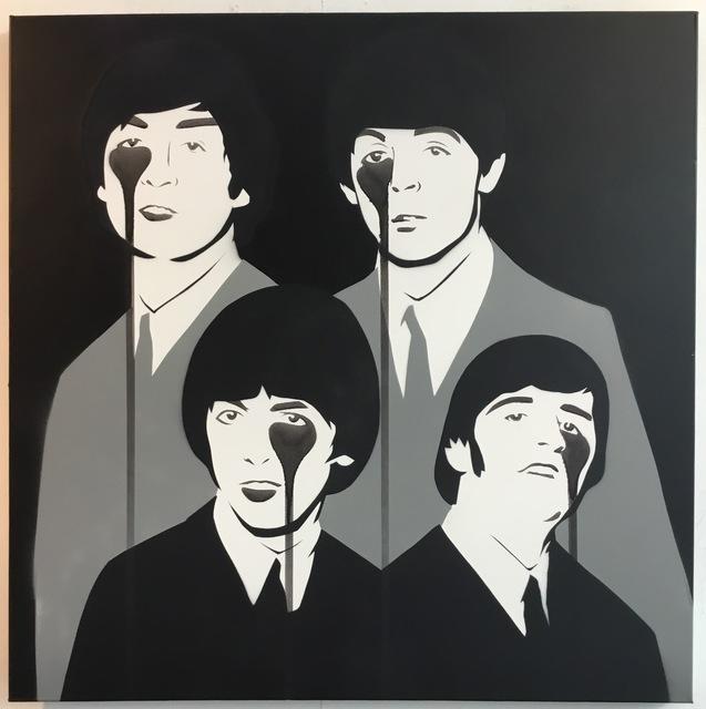 ", 'Beatles ""Hamburg Years"",' 2017, Weinstein Gallery"