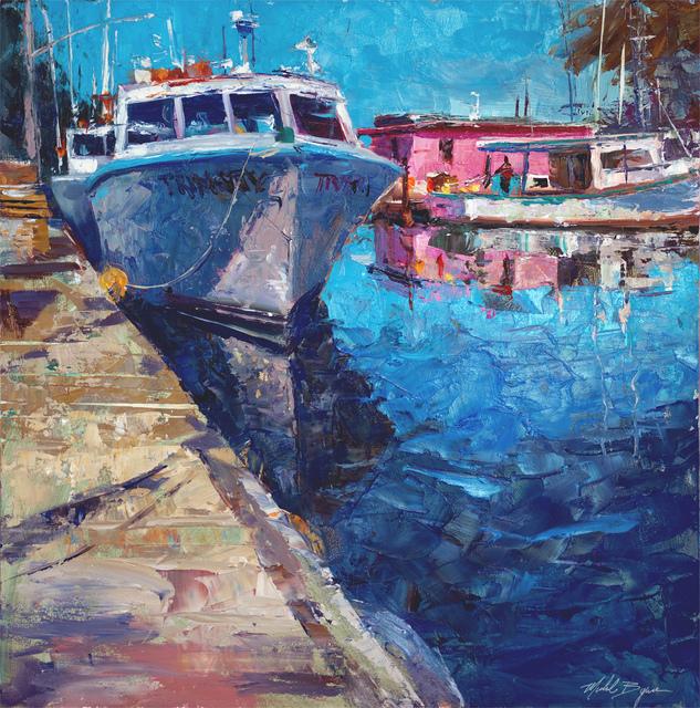 , 'Trinity at the Lobster Yard,' 2019, Gildea Gallery