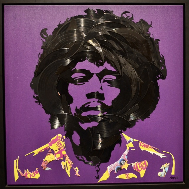 , 'Jimi Hendrix (2017),' , Long-Sharp Gallery