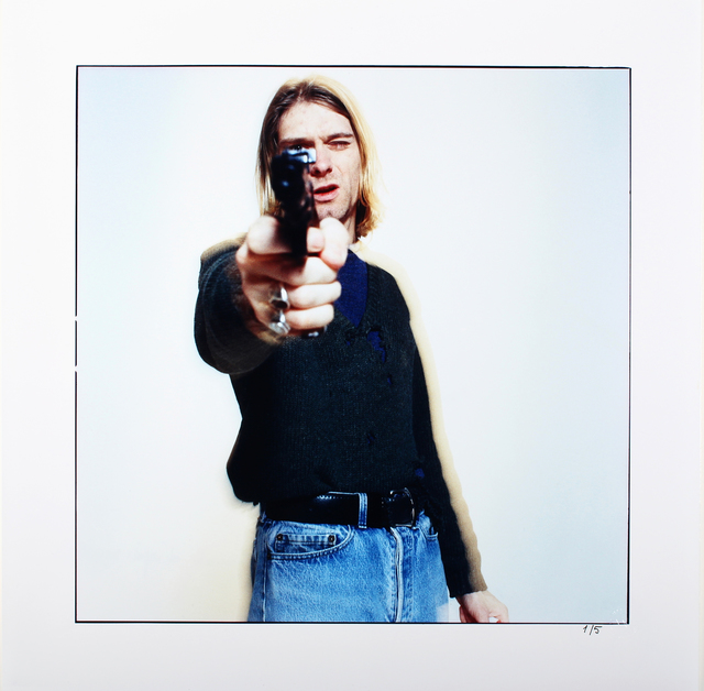, 'The Last Shooting  Kurt Cobain with Gun 1,' 1994, Galerie aKonzept