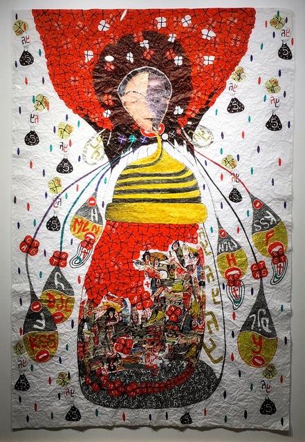 , 'Ô Bee one @ Pik Assobaka Odioka shuffle,' 2014, (S)ITOR