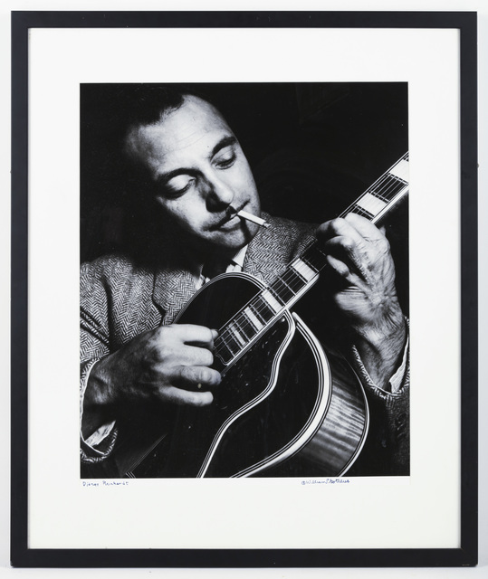William Gottlieb, 'Jean Baptiste 'Django' Reinhardt', 1946, Chiswick Auctions