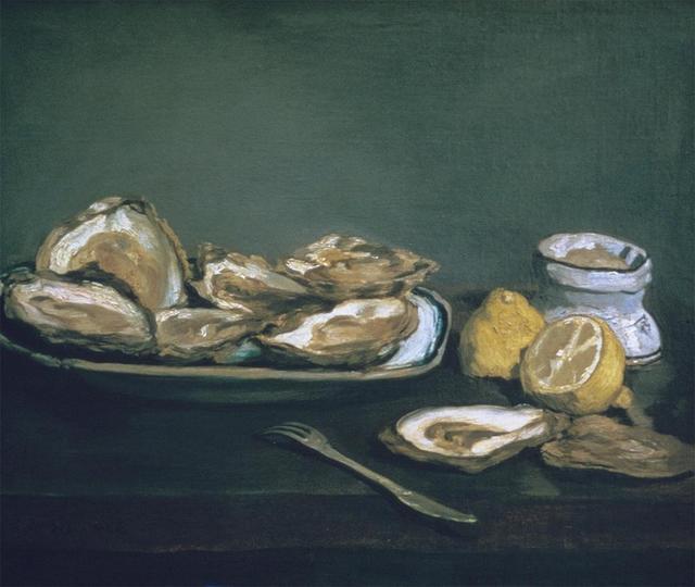 , 'Oysters,' 1862, Seattle Art Museum