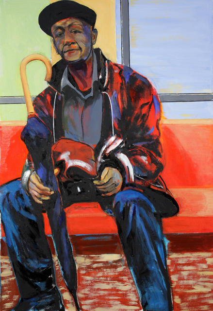 , 'A Man,' 2018, Denise Bibro Fine Art