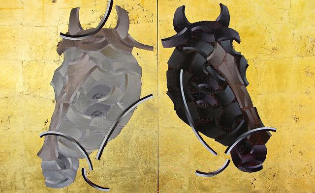 , 'At I+II,' 2013, Anna Laudel