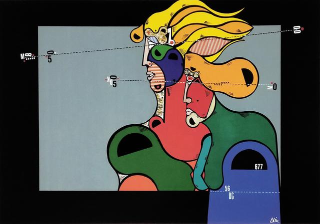 Oswald Aulestia, 'EGIPCIOS EN LE VENTANA', 2004, Gallery Art
