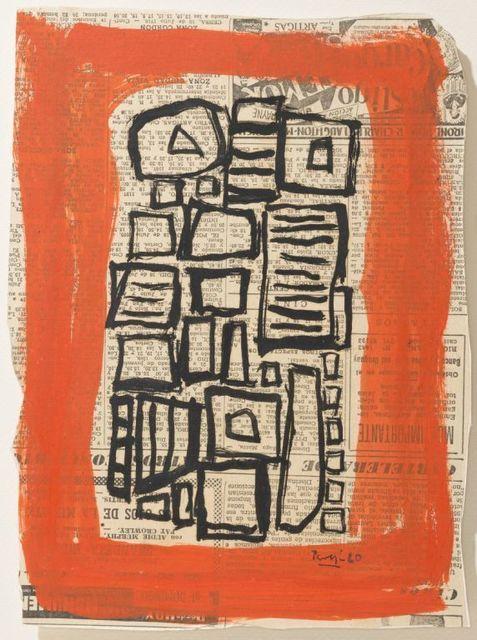 , 'Composición II,' 1956, Galeria Sur