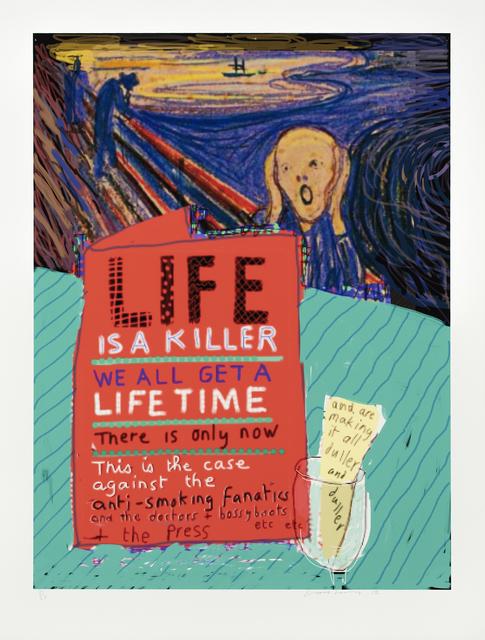 David Hockney, 'Life', 2012, Galerie Lelong & Co.