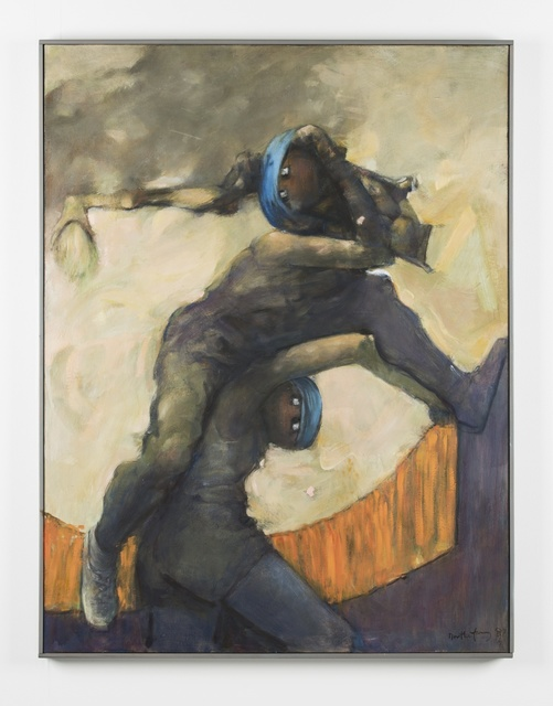 Dorothea Tanning, 'Dionysos SOS', 1987-1989, Painting, Oil on canvas, Alison Jacques Gallery