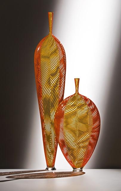 , 'Yellow in Red Leafs,' 2016, Ken Saunders Gallery