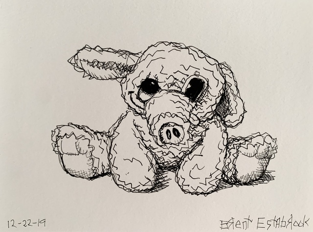 "Brent Estabrook, 'Original | ""Morning Sketch"" 12/22/19  ', 2019, James Wright Gallery"