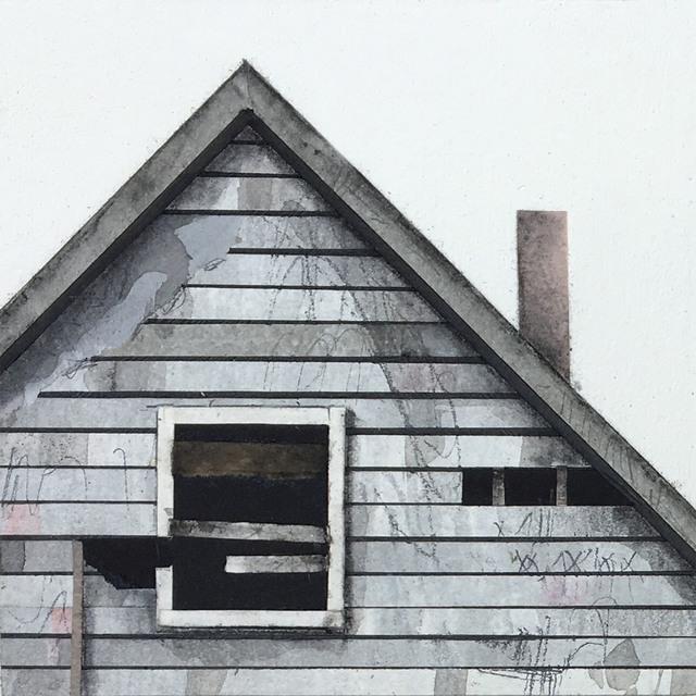 Seth Clark, 'Roof Top Block (grey-white)', 2017, BoxHeart
