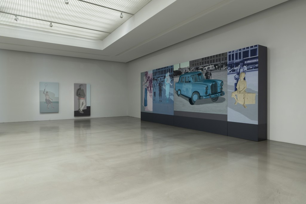 "Installation view of ""LEE, Yong Deok : INDIVISIBILITY"""