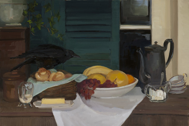 , 'Blackbird at Breakfast,' 2017, Grenning Gallery