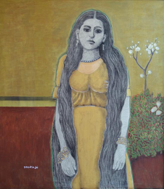 , 'Palestinian Girl, Nazareth (1889),' 2014, Zawyeh Gallery