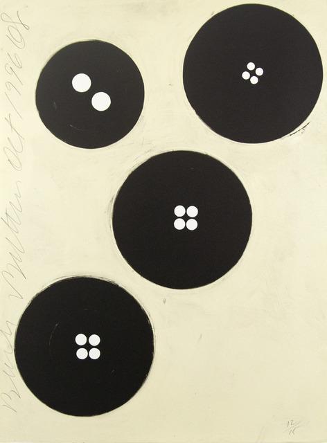 , 'Black Buttons, Oct 1996,' 1996, Tamarind Institute