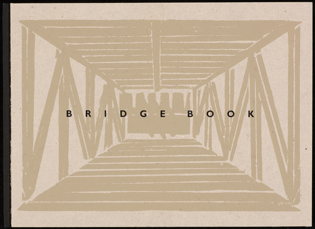 Siah Armajani, 'Bridge Book', 1991, Other, Book in cardboard slipcase: woodcut, letterpress on paper, Walker Art Center