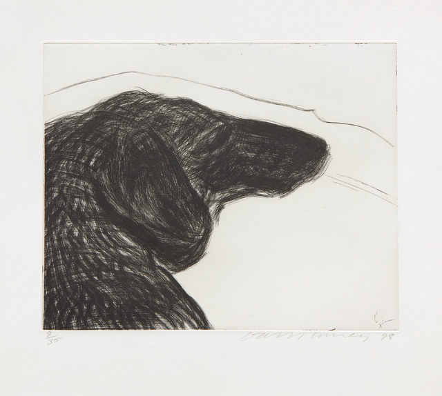 David Hockney, 'Dog Etching No. 6, from Dog Wall', 1994, Phillips