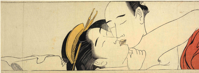 Sexual pleasure cartoon