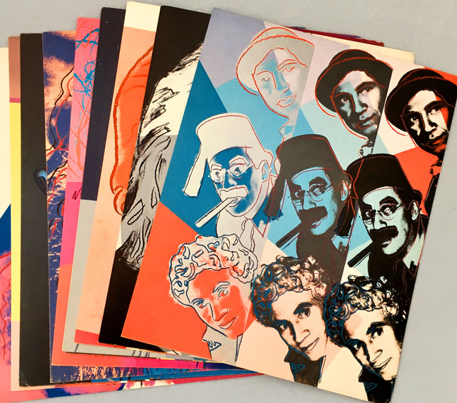 Andy Warhol, 'Andy Warhol Ten Portraits of Jews of the 20th Century (set of  ten 1980 cards)', 1980, Lot 180