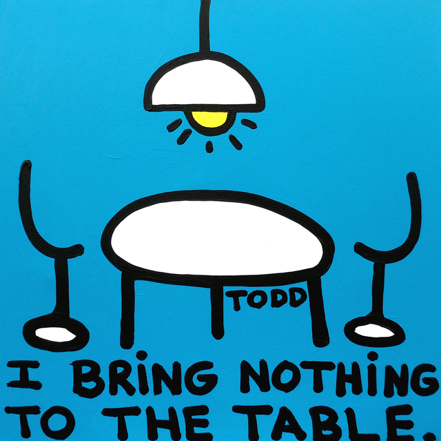 , 'I Bring Nothing to the Table,' , The Ross Art Group Inc.