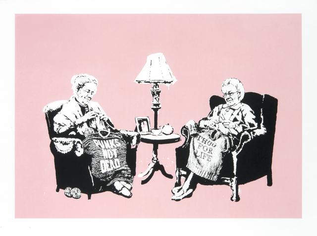 Banksy, 'Grannies (LA Edition)', 2006, Tate Ward Auctions