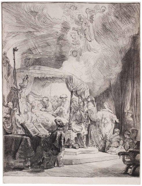 , 'The Death of the Virgin,' 1639, C. G. Boerner